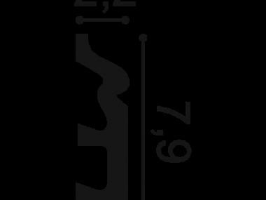 Listwa przypodłogowa SX122