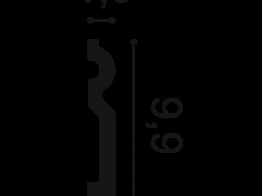 Listwa przypodłogowa SX137