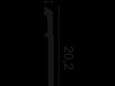 Listwa przypodłogowa SX156