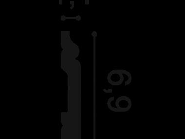Listwa przypodłogowa SX165