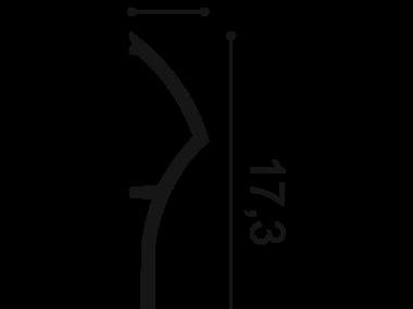 Listwa przypodłogowa SX167