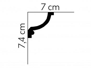 Listwa sufitowa MDA121